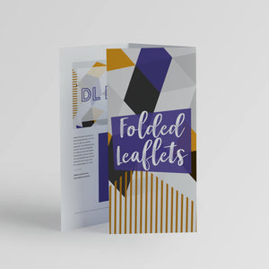 Folded Leaflets - Rother Valley Press