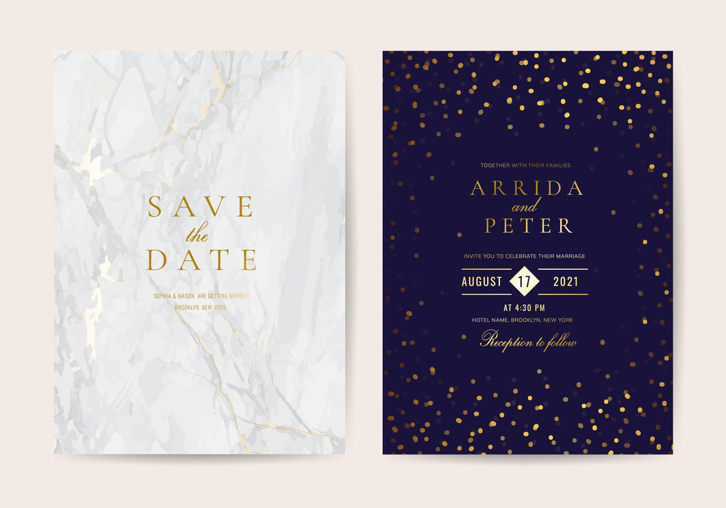 Foiled Invites