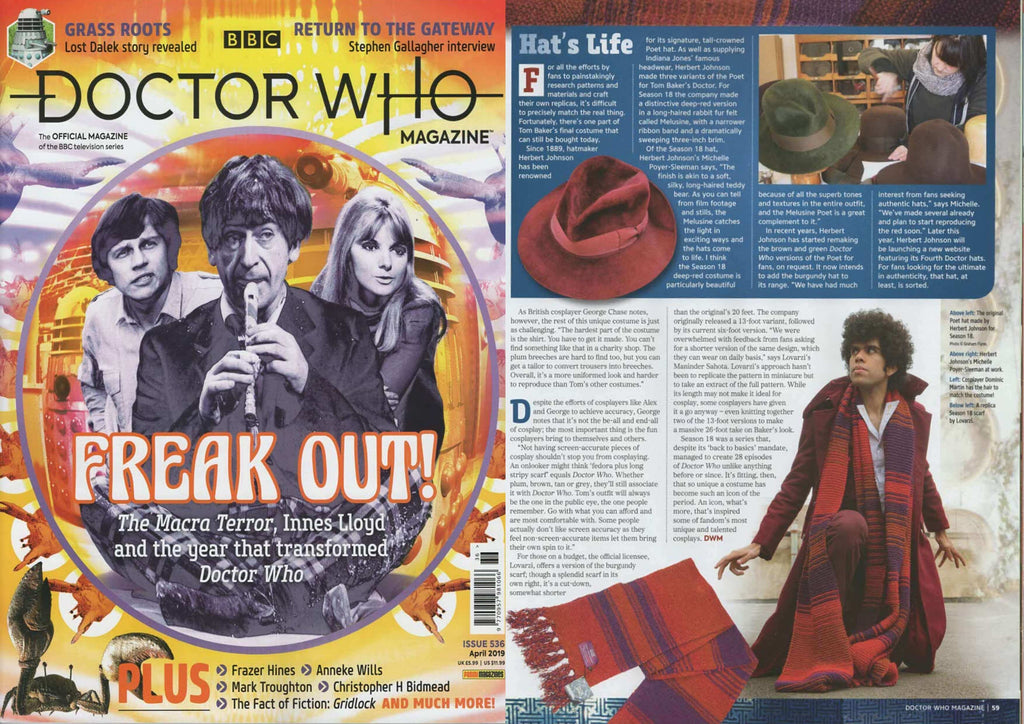 BBC DOCTOR WHO MAGAZINE (Issue 536)