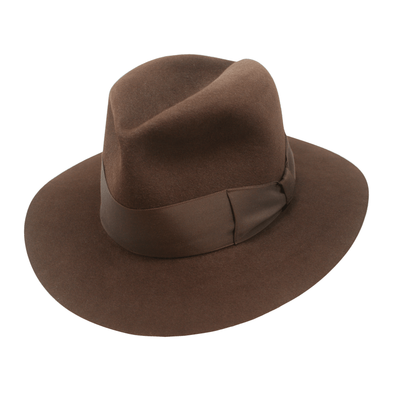 SS27 Wide Brim Brown Poet