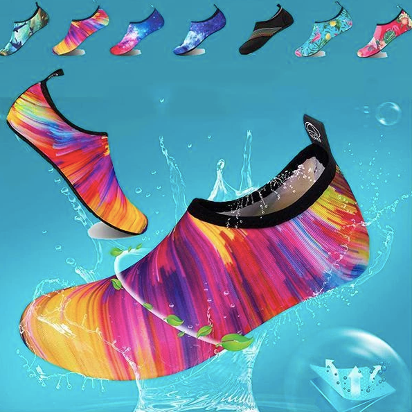 (Factory Outlet- BUY 3 GET 1 FREE today!) Womens and Mens Water Shoes Barefoot Quick-Dry Aqua Socks