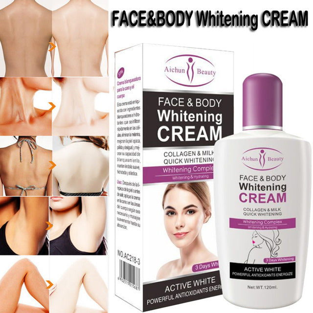 Aichun Beauty Bleaching Body & Face Whitening Cream