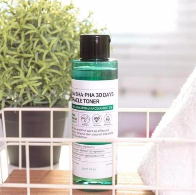 Miracle Toner Aha Bha Pha 30 Days 150ml By Some By Mi™