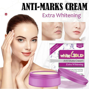 White Gold Anti-Marks Facial Cream With Extra Whitening