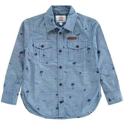 Farzin Denim Shirt Jongens Mid