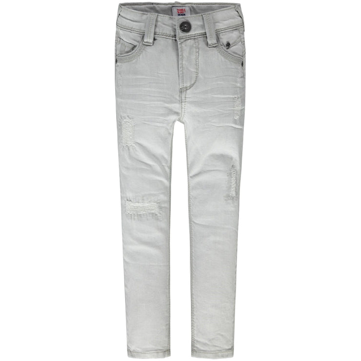 TND-FRANC Jongens Mid Jeans - Denim Light Used
