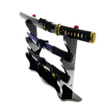 Musashi 3 PCS Swords Tabletop Stand
