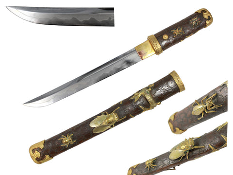 Musashi Summer Cicadas Antique Tanto