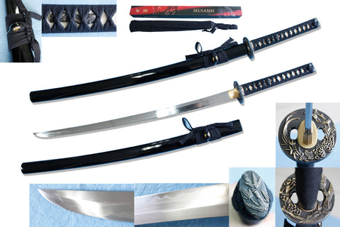 Musashi Flower and Bamboo Katana