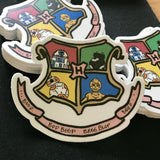 Droid School of Beep-boop and Wizardry sticker decals - Harry Potter Star Wars inspired