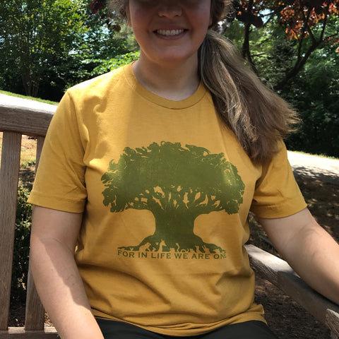 Disney's Animal Kingdom, For in life we are one - Kelly Design Company original triblend tee