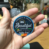 "There's a great big beautiful tomorrow - 2"" Carousel of Progress sticker decal"