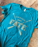 Change Your Fate - shirt inspired by Merida - Kelly Design Company original - Brave Pixar