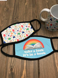 Take a look its in a book Reading Rainbow mask by Kelly Design Company