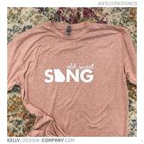 Old Sweet Song - Georgia tee by Kelly Design Company