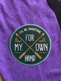 """I'll be shooting for my own hand"" Merida Brave sticker"