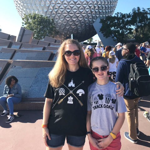 "Disney World ""4 Parks"" triblend tee, Adult Unisex shirt"
