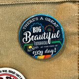 Carousel of Progress 'Great Big Beautiful Tomorrow' Pinback Button