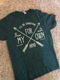 I'll be shooting for my own hand! - Merida Brave triblend tee, Adult Unisex shirt