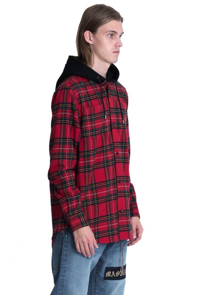 side Mastermind World Flannel Shirt