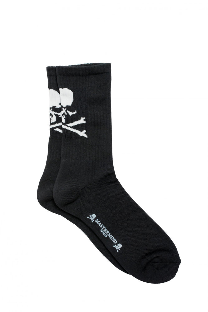 Mastermind World AW18 Mens Black Skull Socks