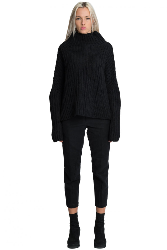 Forme d'expression AW18 Womens Black Jumper