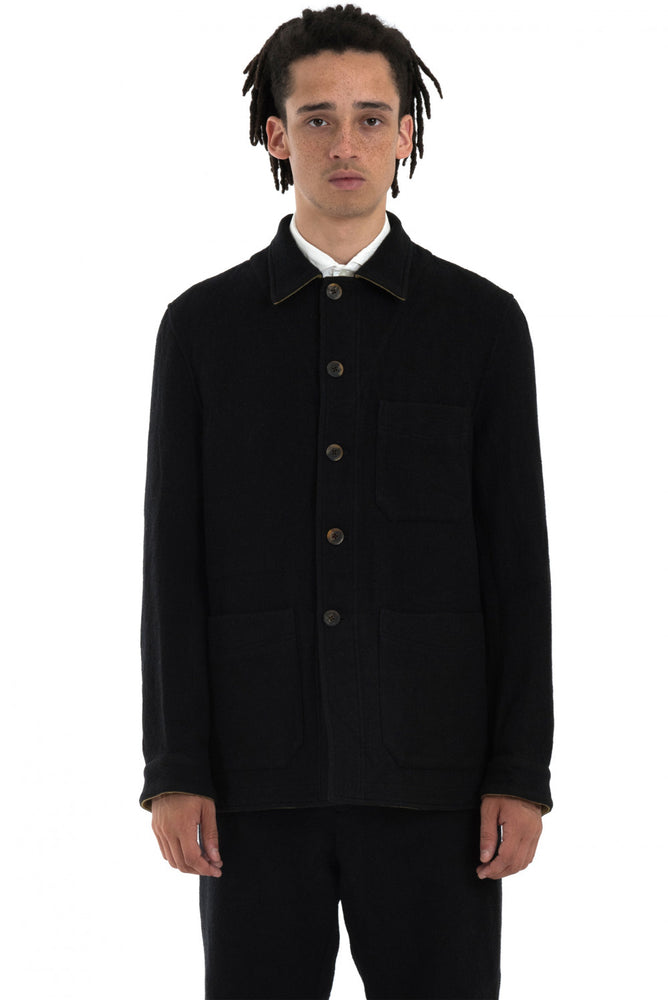 Forme d'Expression Black Worker Jacket