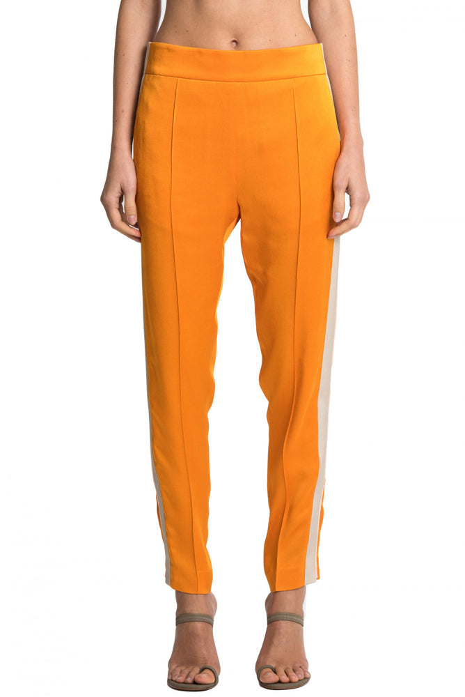 side Haider Ackermann AW18 Womens Orange Trousers