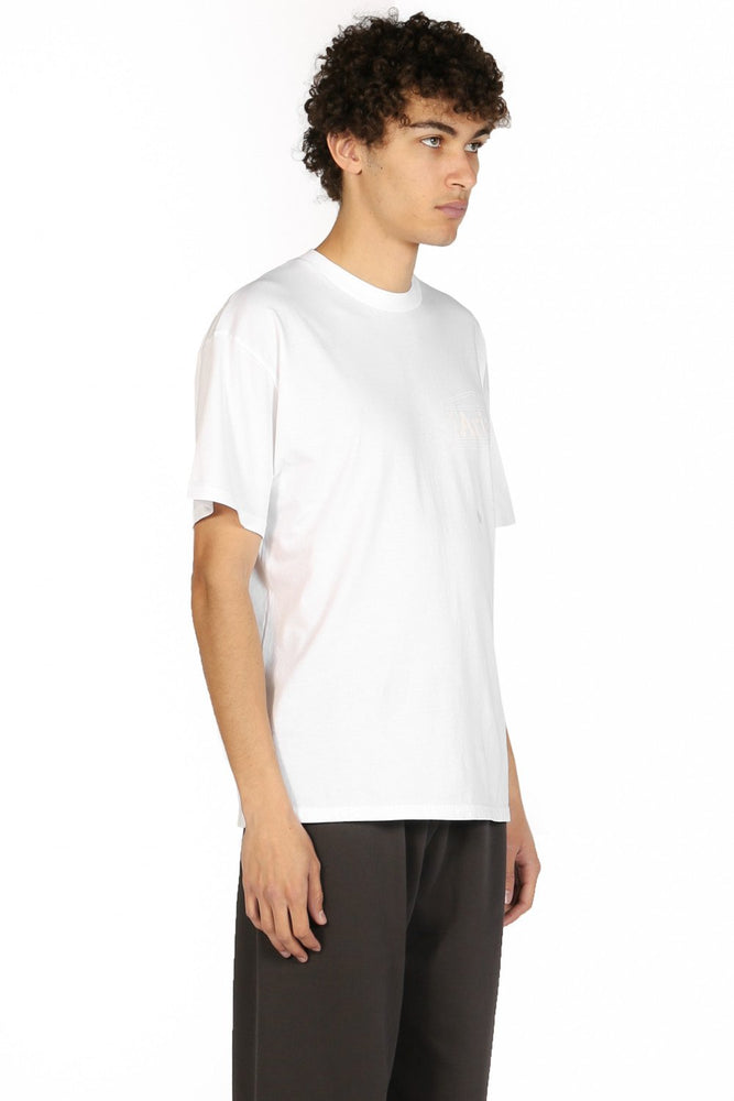 Aries Basic Temple T-shirt White