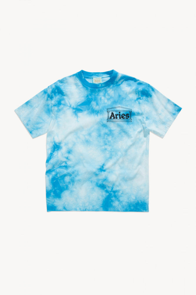 Aries Classic Temple Tie Dye T-shirt