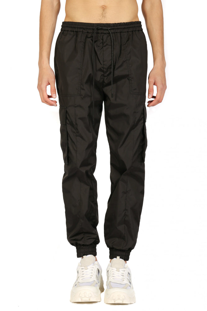 JuunJ Black Cargo Pants