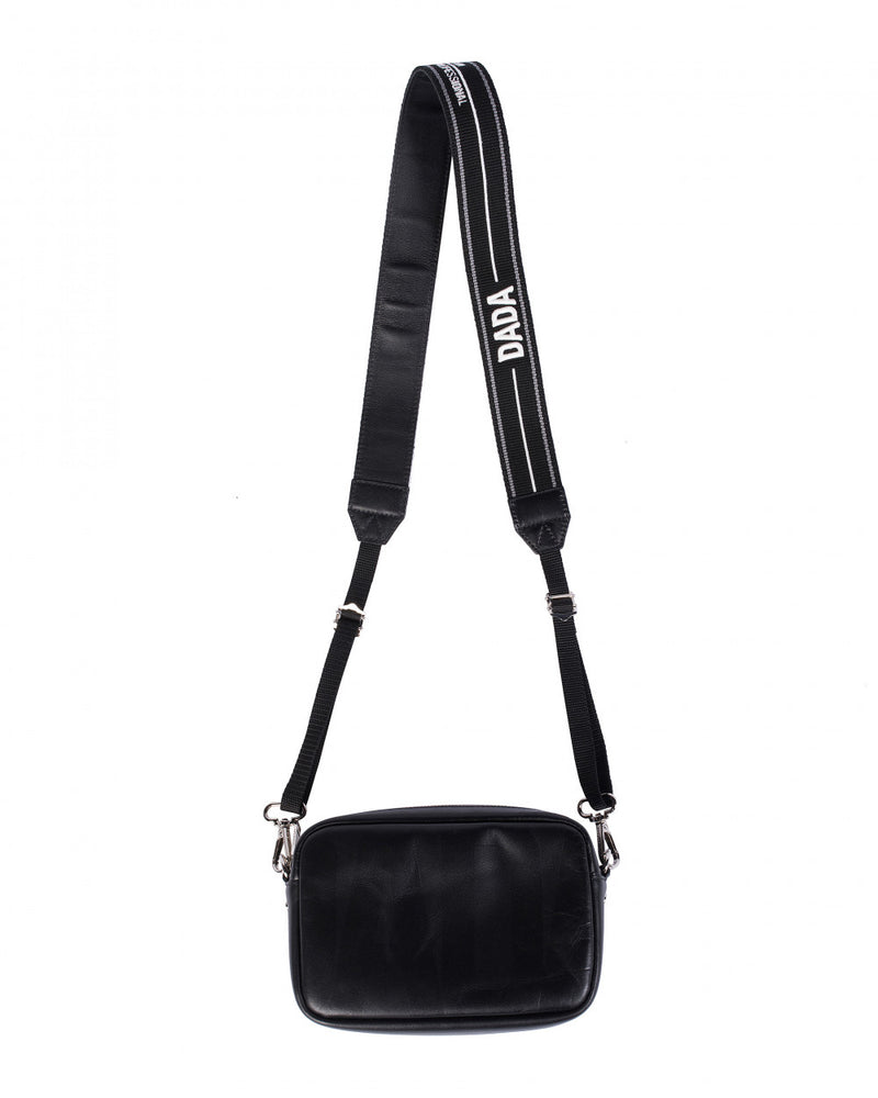 Christian Dada Black DADA Camera Strap Bag.
