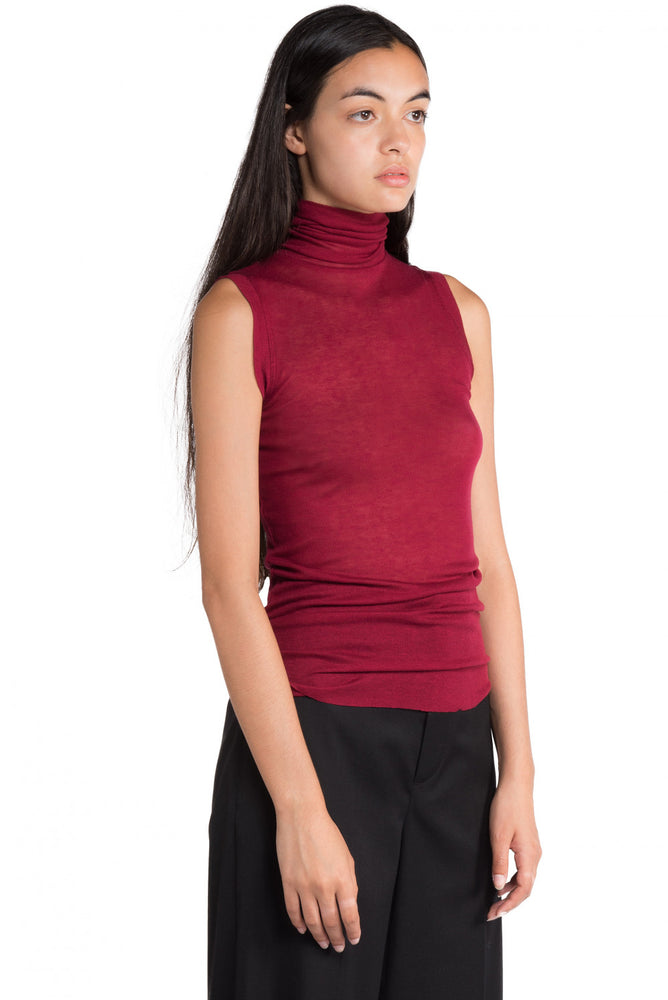 Greyyang Sleeveless Turtle Neck