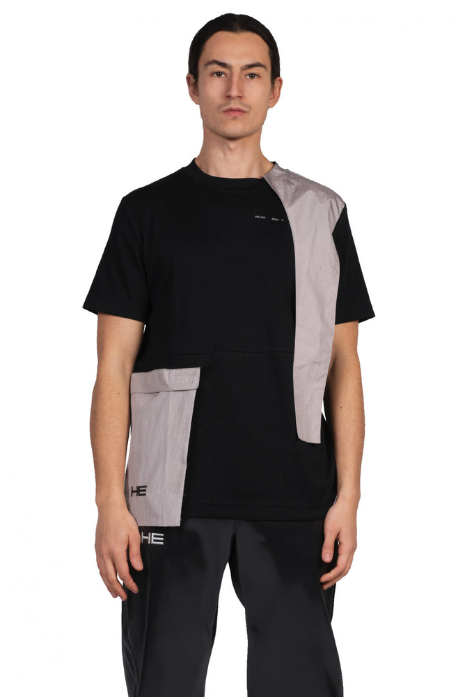 Heliot Emil T-shirt with Tech Panels