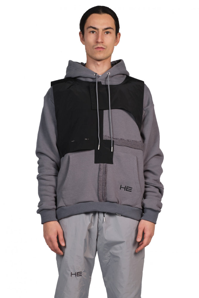 Heliot Emil Hoodie with Vest