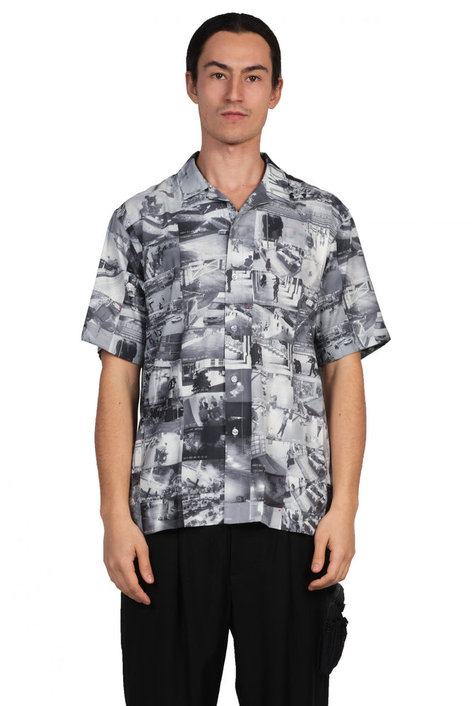 IISE Camp Shirt CCTV Print