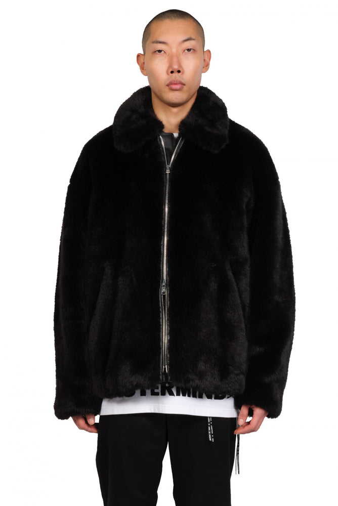Mastermind World Faux Fur Coat