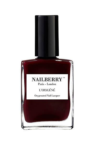 nailberry nail varnish - noirberry
