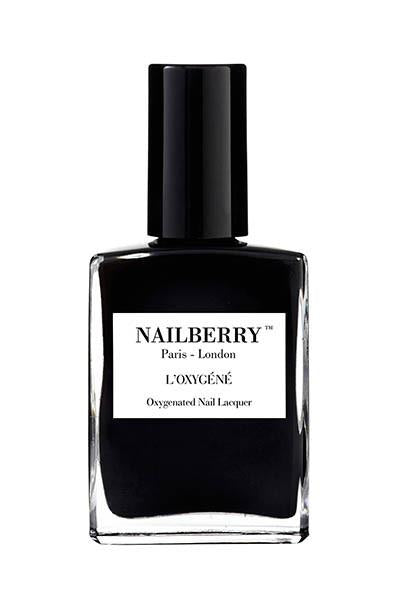 nailberry nail varnish - blackberry