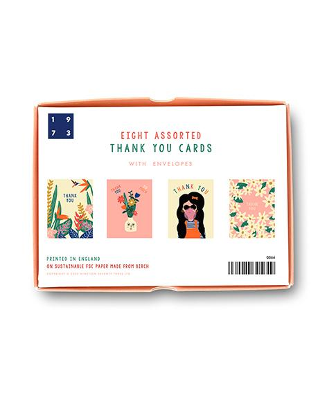 boxed set of thank you cards