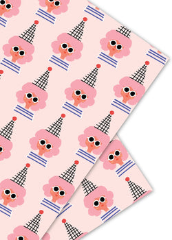 party girl gift wrap