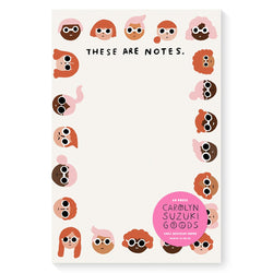 faces notepad