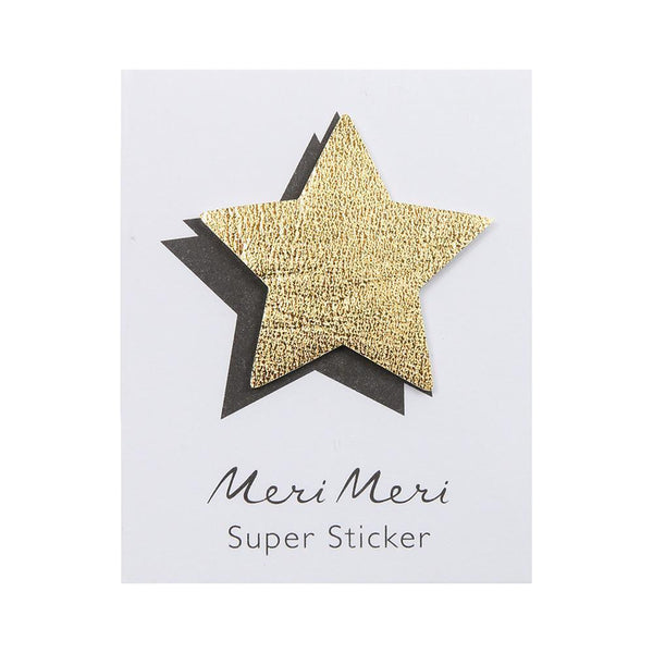 star leatherette sticker