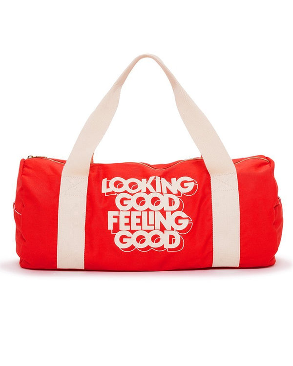 'looking good' gym bag