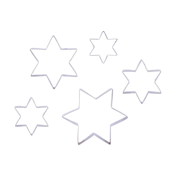 star cookie cutter set (5)