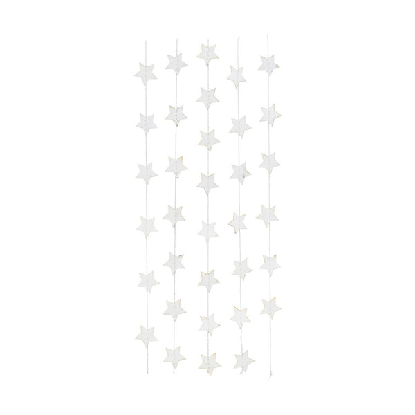 white star garland (medium)
