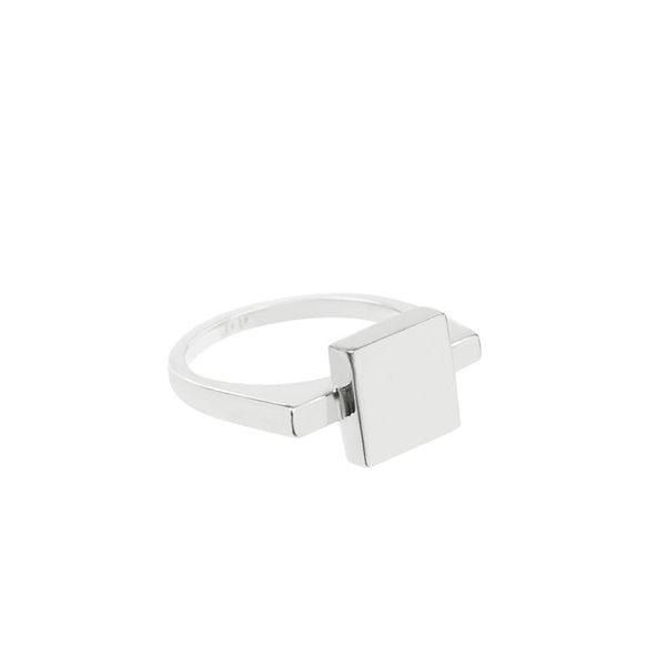 'aret' silver ring