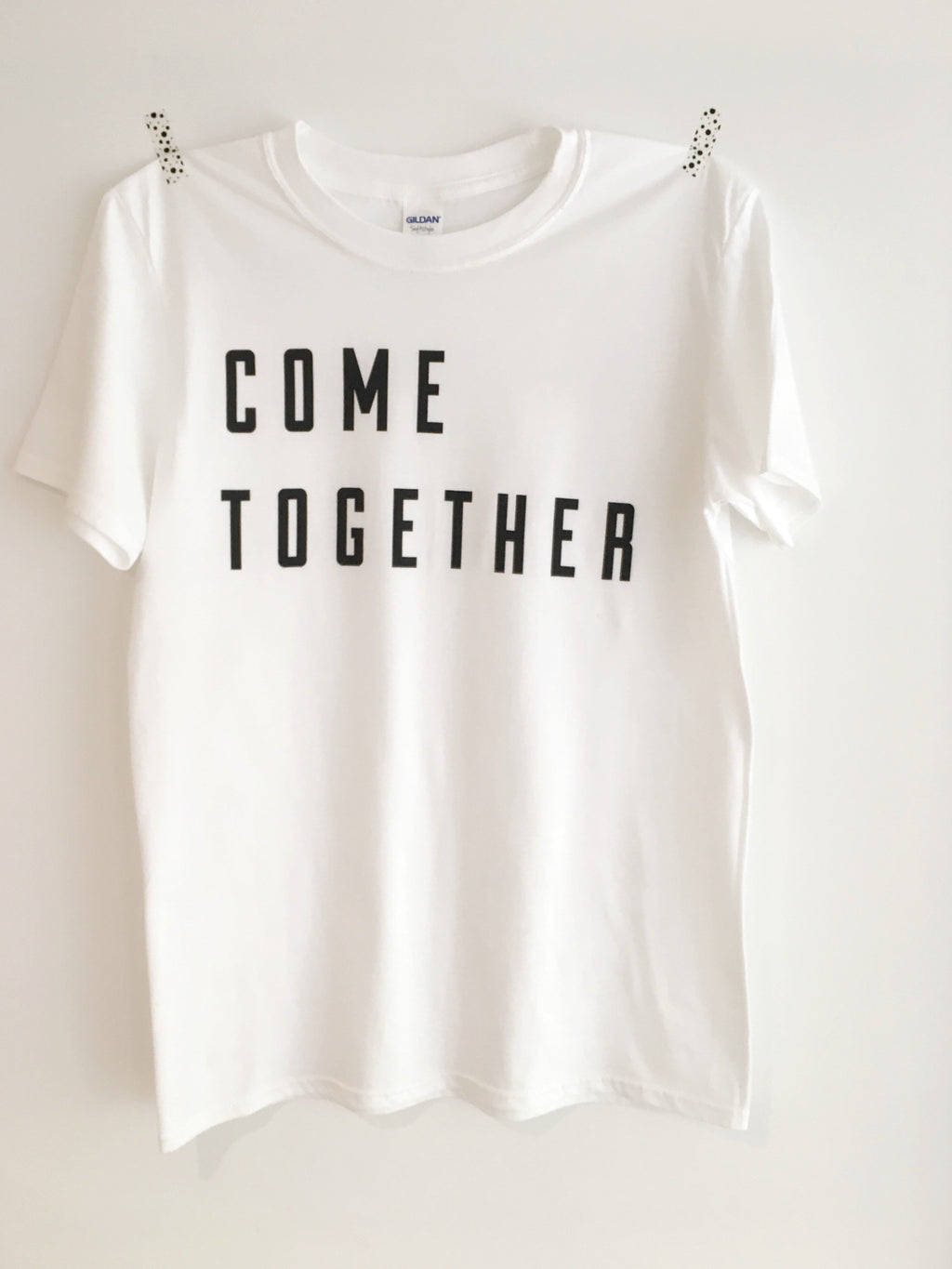'come together' logo t-shirt
