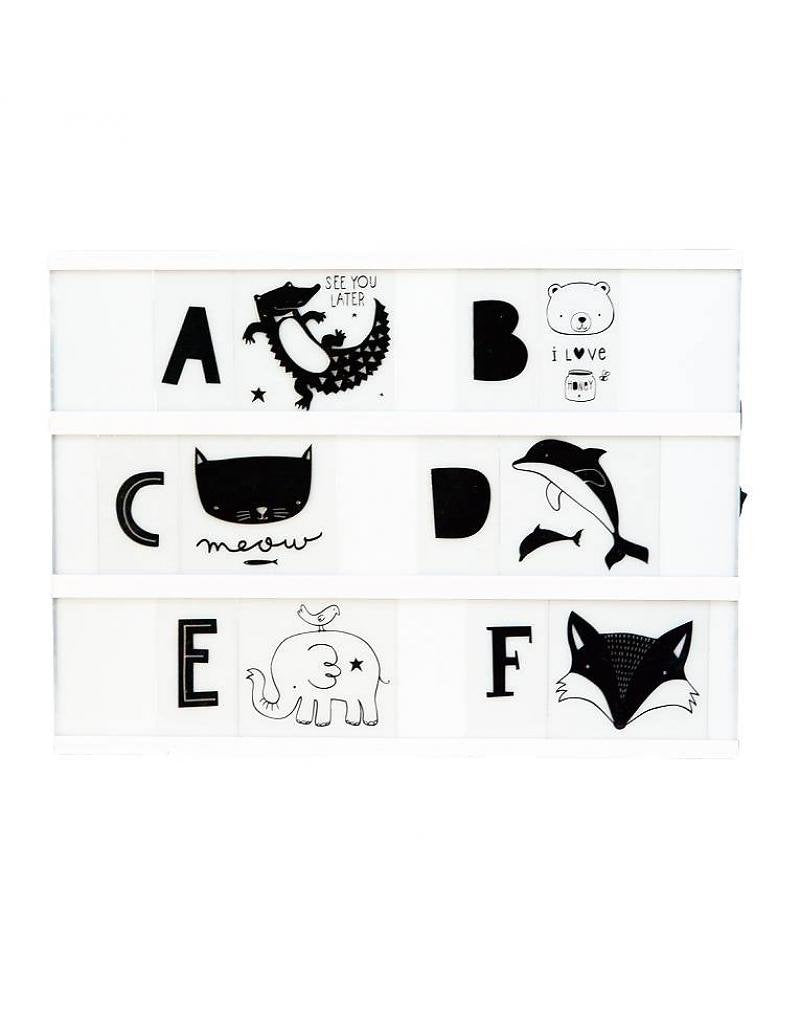 lightbox letter set - abc