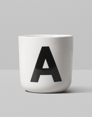 playtype alphabet mugs (various)